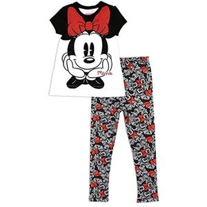 🎁Minnie Mouse White&Red Baby 2-Piece Legging Set.